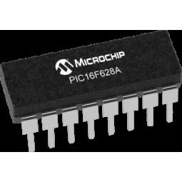 Microcontrolador 16F628A DIP