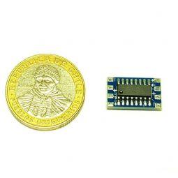 Mini convertidor 3.3V a 5V RS232
