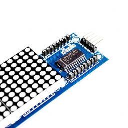 Módulo MAX7219 LED matricial