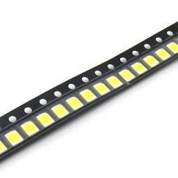 LED SMD PLCC-2 3528 blanco ultra brillo para backlight de TV