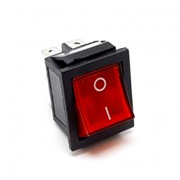 Interruptor Rocker 15A rojo