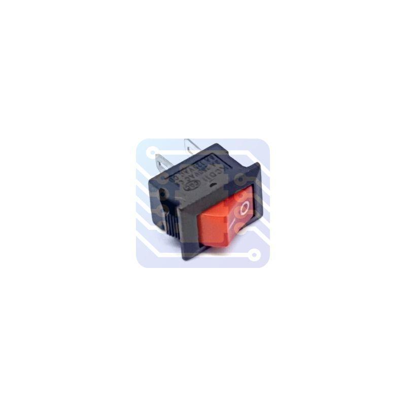 Interruptor de 3A rocker de 10x15 mm