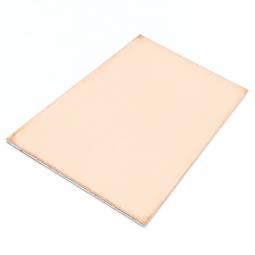 Lámina de cobre doble cara o faz para diseño de placas de circuito impreso PCB