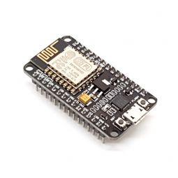 Placa tarjeta de desarrollo NodeMCU basada en ESP8266 con conectividad WiFi.