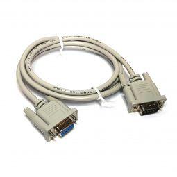 cable RS232 protocolo serial con conector DB9 (9 pines)