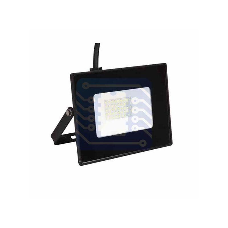 Lámpara o foco proyector LED de 50W luz fría para calle