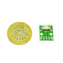 Conexión DIP-microUSB