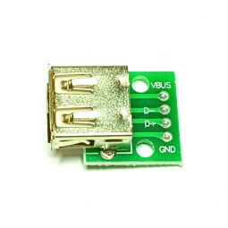 Conector adaptador USB a DIP
